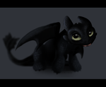 Baby Toothless by Kitchiki