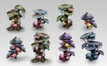 Alien Mushroom Tree Concepts by jeffchendesigns