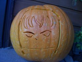 Mello the Pumpkin- Death Note by Taismo411