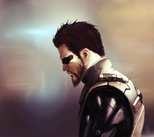Adam Jensen by lion-2024
