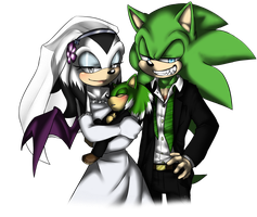 .:PC:. Scourge X Holly wedding for Angelsummer501 by SilverfanNumberONE
