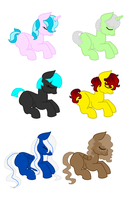 Foal Adopts [OPEN] by BallJointedPony