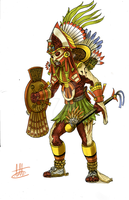 Xipe Totec by Cesar-fps