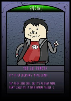 The Frighteners Card 7 - Peter Jackson by kickm