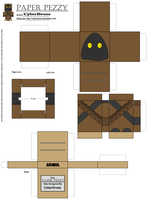 Paper Pezzy- Jawa by CyberDrone