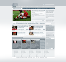 Sport Center - Web Design by RC-man-Design