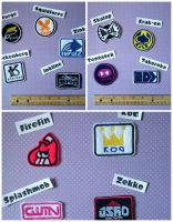 Splatoon brands patch collection by fairy-of-illusions