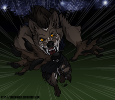 LSC: Werewolf Pounce! by JakkalWolf