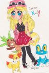 Pokemon x and y by LittleAngel29