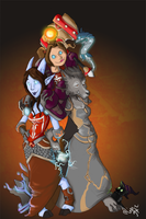warcraft commission by miggea