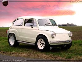 Fiat 600 'Fitito' by tebidesign
