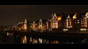 Speicherstadt Hamburg Part III by W0LLE