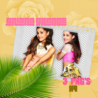 ArianaGrandephotopackpng by WingsToButterfly