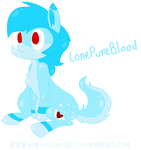 LonePureBlood :COMMISSION: by GwenCupcakes