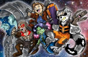 Guardians of the Galaxy by DaphneLage