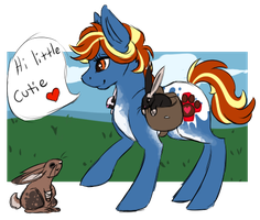 Job: Bunny Here Bunny There by Amiookamiwolf