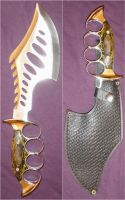 Wicked Hunting Knife Cleaver by FantasyStock