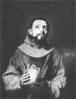 St. Francis of Assisi by ImperiousTangent