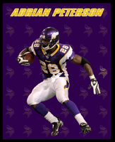 Adrian Peterson by Hayes123