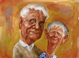 grandparents by ALMAGOR