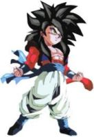 SSJ4 Kid Goku by sayinking1