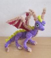 Pipe cleaner/chenille Spyro by Sherval
