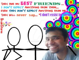 Me and My Best Friends by d1pran