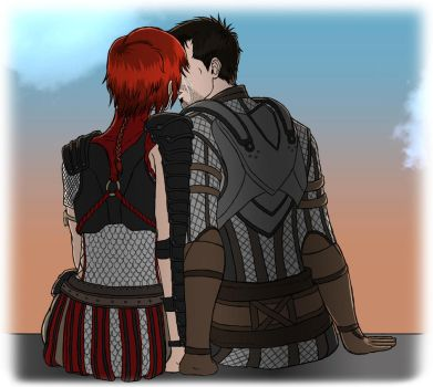 Dragon Age: At Our Parting by Guyver89