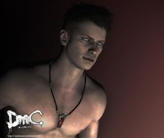 Wallpaper from Dante (DmC) by AnchenceTo