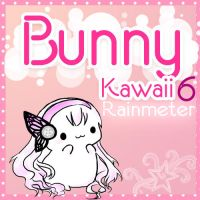 Bunny Kawaii Rainmeter 6 by monzedkltz