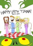 Happy 18th Tiana by dru26