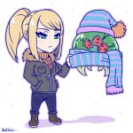 metroid is also ready for winter by akairiot