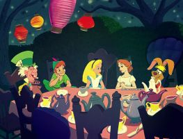 Tea Party by angeelous-dc