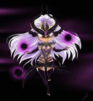 League of Legends - Syndra (Chibi) by kapiheartlilly