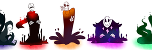 Goop Gasters by Bunnymuse