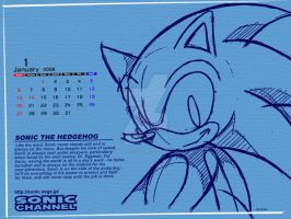 Sonic hedgehog wallpaper by Aniken-Style