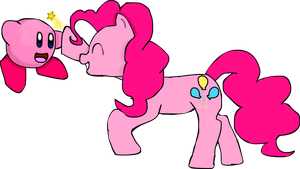 Kirby and Pinkie Pie by TJ0001