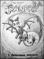 The Legend of Pandra - teaser cover by catkitte