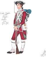 The Redcoat - 1763 by CdreJohnPaulJones