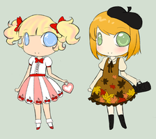 .:ADOPTABLES:. Little Lolitas by xCountryBerryx