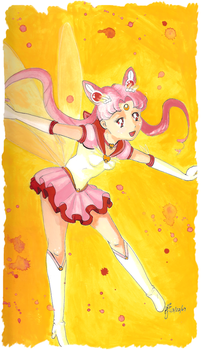 Sailor Chibi Moon - Teen by PaulineFrench