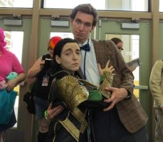 Loki and 11th Doctor 1 by JaneReaction