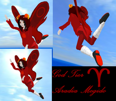 MMD God Tier Aradia by MelissaChao