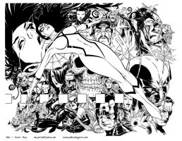 Jim Cheung Spider Woman by GothPunkDaddy