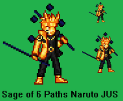 6 Paths Naruto by RedFlash93