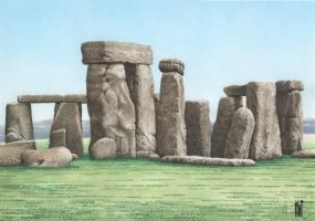 STONEHENGE_ENGLAND by toniart57