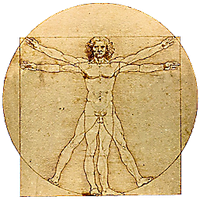 Vitruvian Man Dock Icon by cmnixon