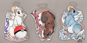 Rattum Badges - Commission by NightTwilightWolf