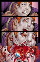 Eye-popping horror comic by RayDillon