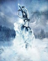 Queen of Ice by 25clad35